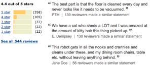 Best rated robot Vacuum